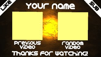 Free outro template panzoid free outro template pronofoot35fo Choice Image